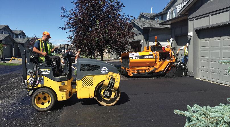 asphalt paving contractors, calgary paving contractors