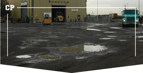 Parking Lot Paving, pot holes that need repair,