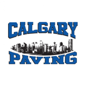 Calgary Paving Logo, City of Calgary skyline