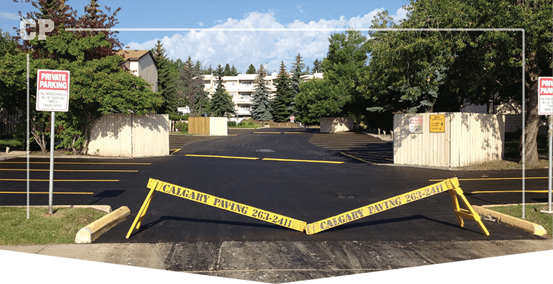 Calgary asphalt paving services, asphalt resurfacing