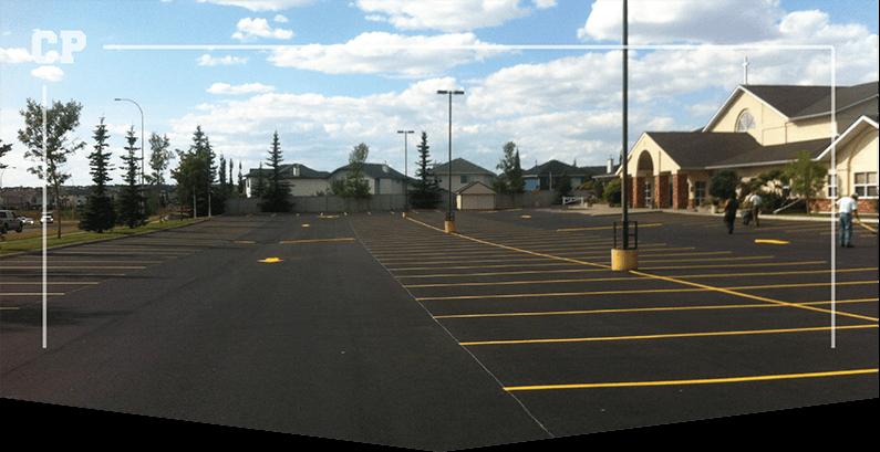 Parking Lot Paving, asphalt paving image,