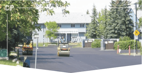 Parking Lot Paving, asphalt paving image,