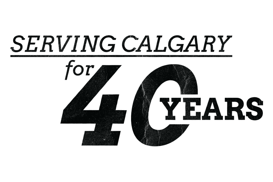 Serving Calgary for 40 Years
